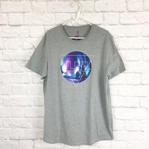 Other - NWT Men's gray graphic short sleeve t-shirt sz XL
